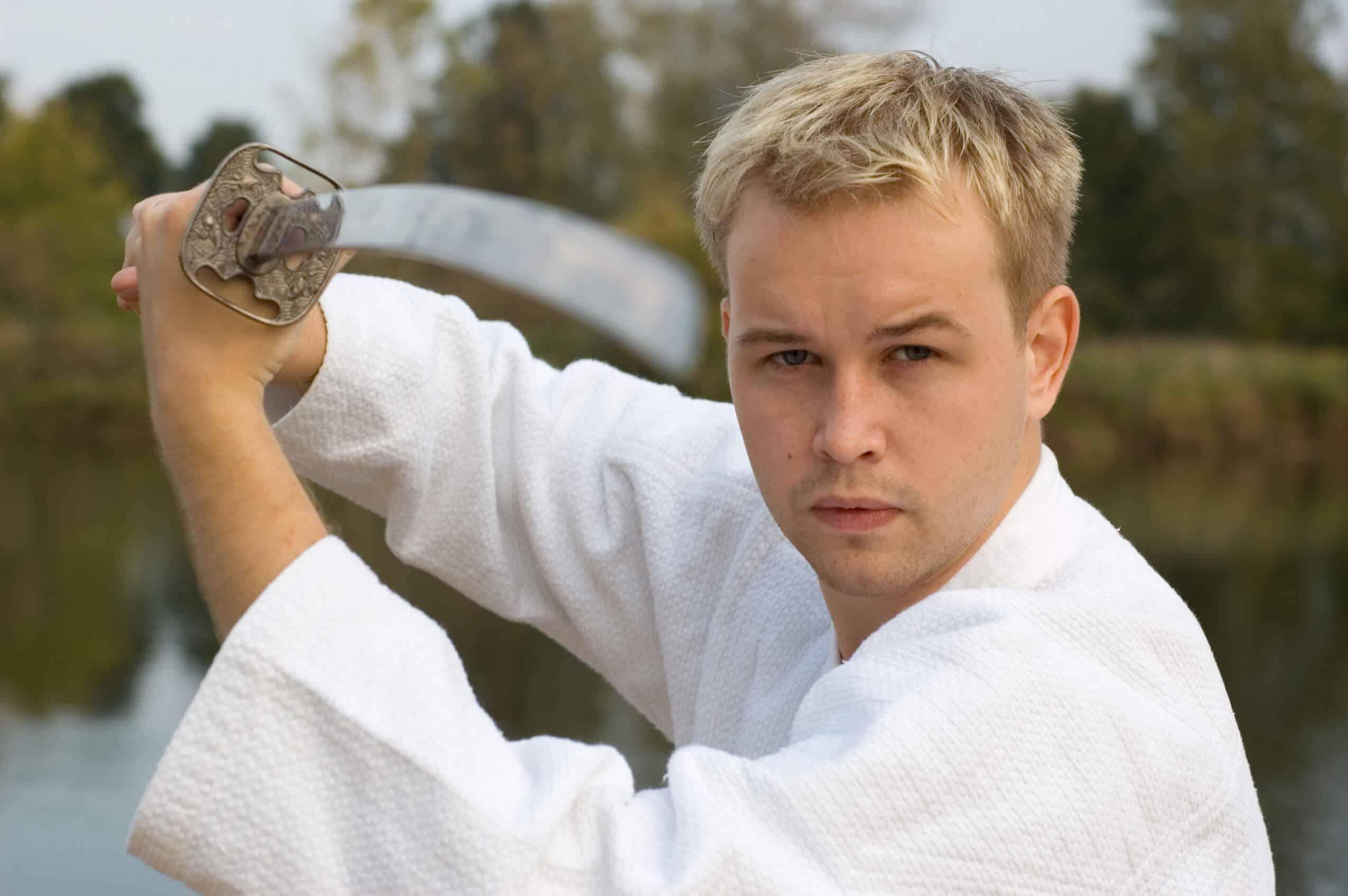 Martial Arts Lessons for Adults in Columbia MO - Samurai Sword Posing Blog