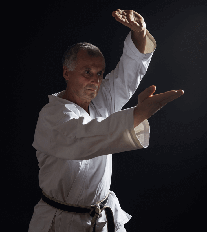 Martial Arts Lessons for Adults in Columbia MO - Older Man