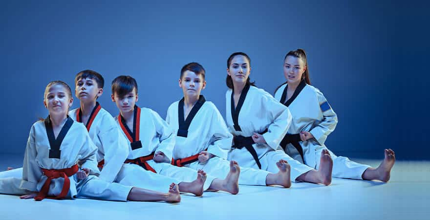 Martial Arts Lessons for Kids in Columbia MO - Kids Group Splits
