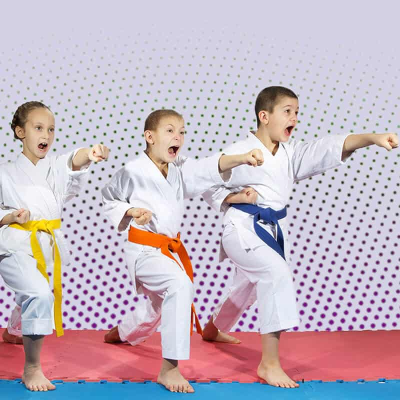 Martial Arts Lessons for Kids in Columbia MO - Punching Focus Kids Sync