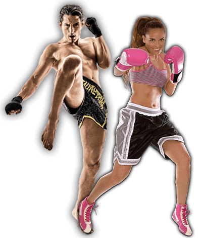 Fitness Kickboxing Lessons for Adults in Columbia MO - Kickboxing Men and Women Banner Page