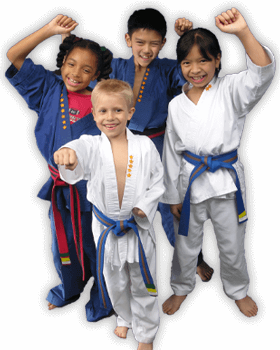 Martial Arts Summer Camp for Kids in Columbia MO - Happy Group of Kids Banner Summer Camp Page